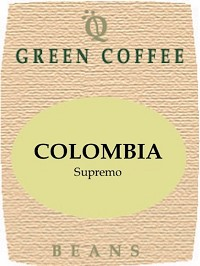 Colombian Supremo -- GREEN