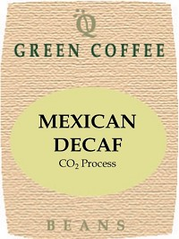 Mexican CO2 process decaf -- GREEN