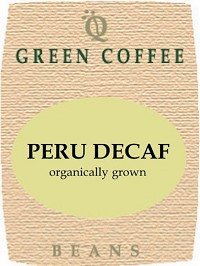 Organically Grown Peru Decaf -- GREEN