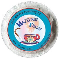 Hazelnut Decaf Pods
