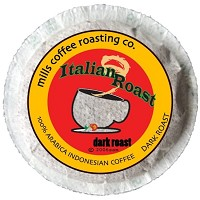 Organically Grown Italian Roast Pods